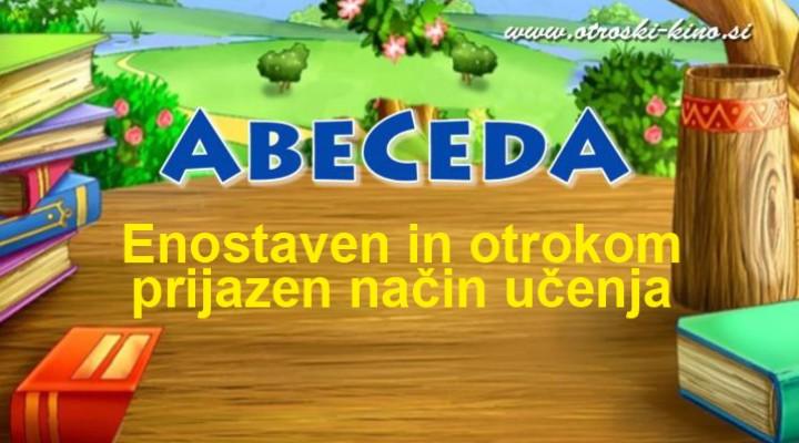 Zabavno učenje abecede za otroke
