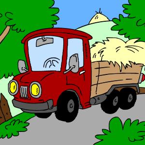 Delavni tovornjak