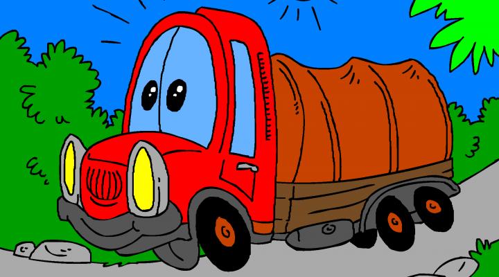 Prevozniški tovornjak
