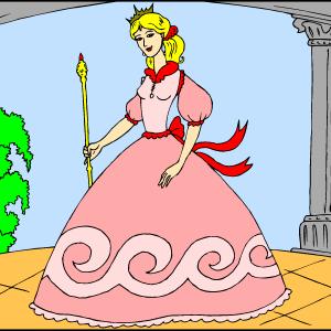 Princesa na balkonu