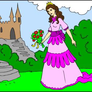 Princesa pred gradom