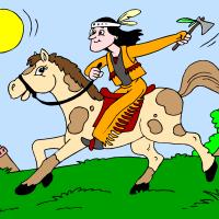Indijanec na konju