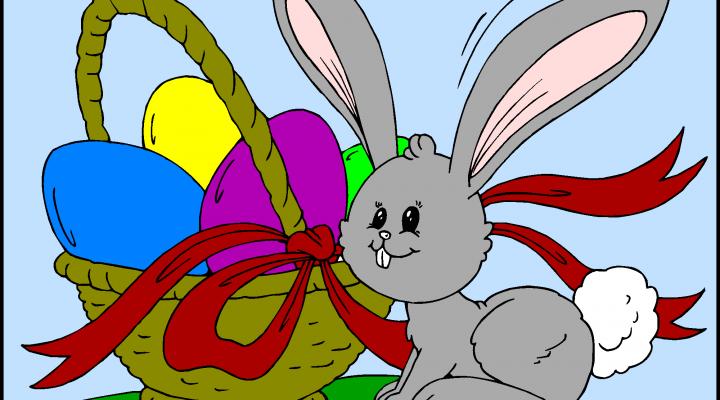 Zajček in košara