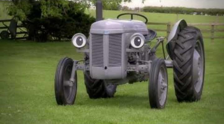 Little Grey Fergie – Traktor Fergie